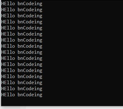 infinite-for-loop-bnCodeing